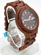 we waterproof wholesale wood watch and your logo custom watches