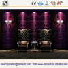 3d Quality Chinese design wallpaper gold