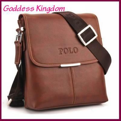 Полиуретан кожа сумка-мессенджер для мужчины, Свободного покроя мужчины мешок, Бизнес мужская наплечная сумка