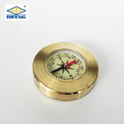 Hot Sales Outdoor Metal Compass With Keyring