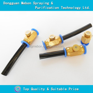 brass mist spray nozzle low pressure,0.15mm fog spray nozzle