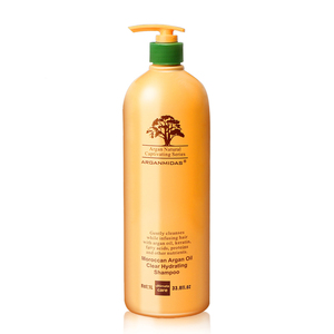 Arganmidas 1L High Quality OEM Pure Natural Organic Morocco Argan Oil Best Black Hair Shampoo With Factory Price