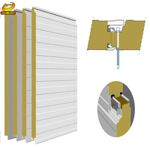 Outdoor insulation easy install pu wall panel