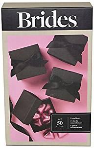 Brides (TM) by Gartner Studios, Favor Box Kit, Black, Pack of 50