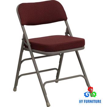 Contreventées Premium Incurvé Rembourrée Quad Articulé Triple Pliante chaise Gris Métal Tissu Rembourré Et En Chaise Buy luFJ1K3Tc5