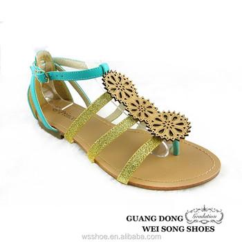 59b9c8c56d6b4 three flowers design middle of feet heel surrounded sandal flip top ladies  sandal flip flop sandal