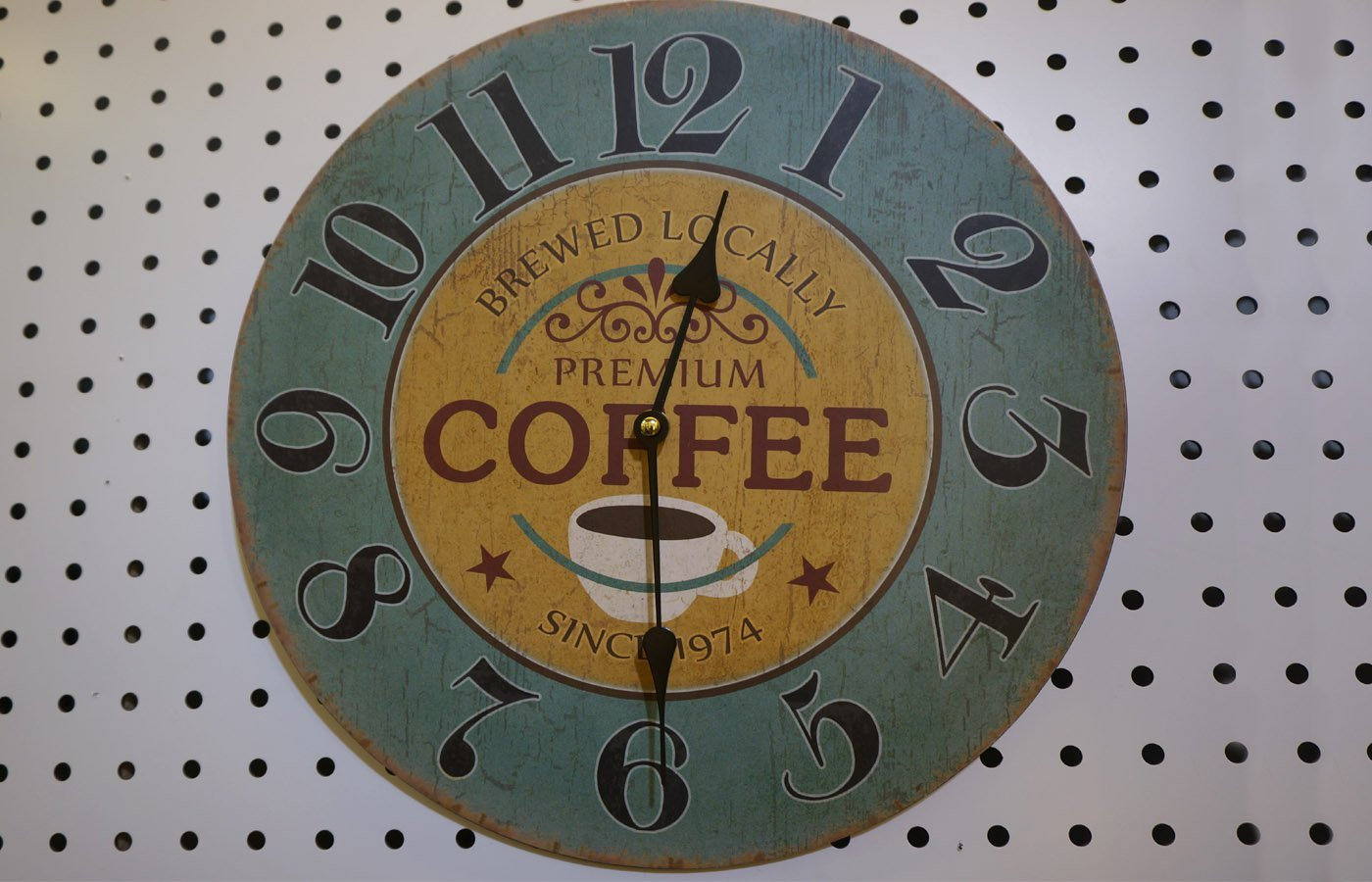 Themed Wooden Wall Clock Shabby Chic