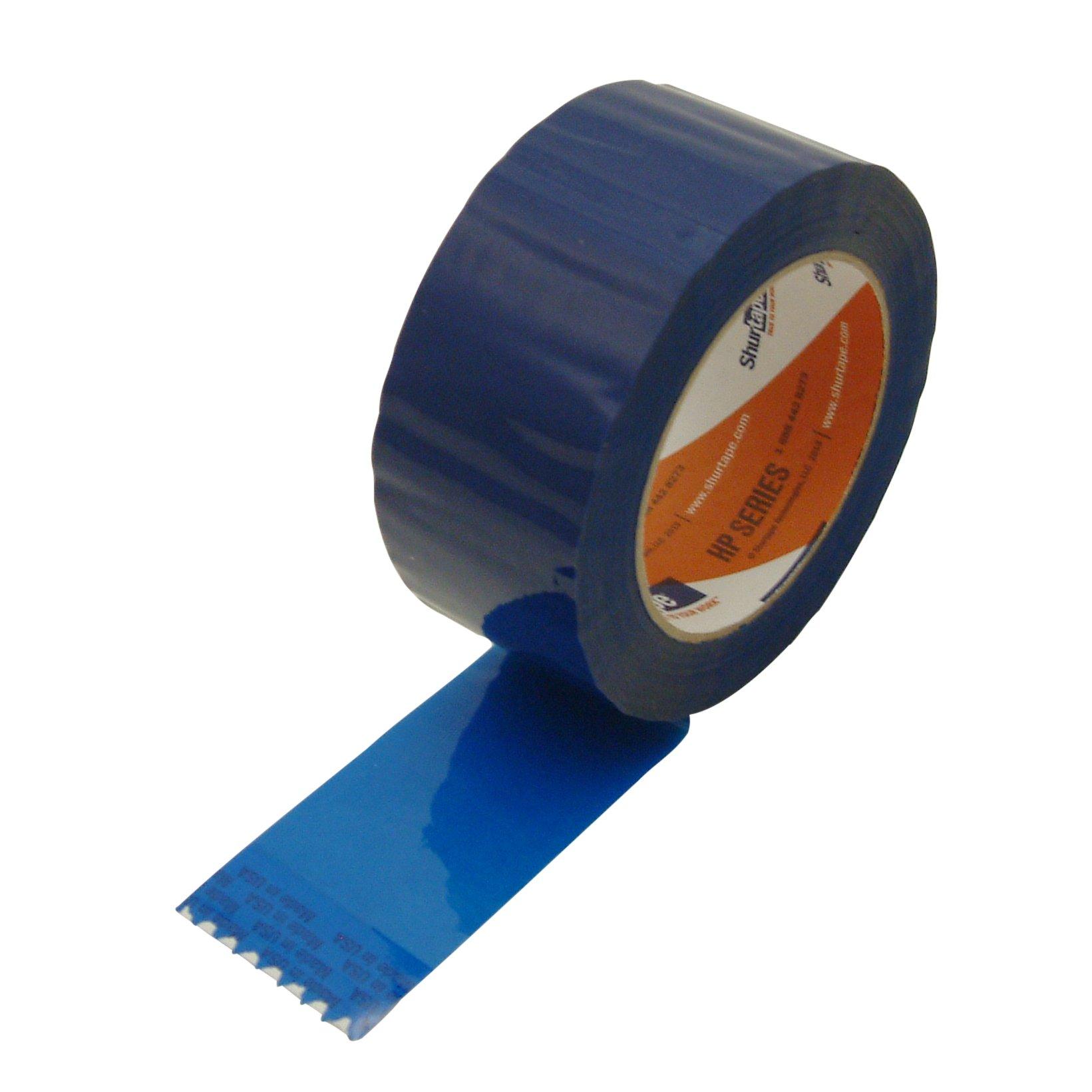 "Shurtape HP-200C/BLU2110 HP-200C Production-Grade Colored Packaging Tape: 2"" x 110 yd., Blue"
