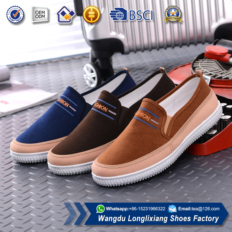 Simple design <strong>men</strong> slip on casual shoe