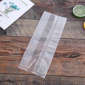 Wholesale Plastic With Tear Notch Back Side Seal Bag, Amazon Wholesale Side Gusset Back Seal Bag Plastic