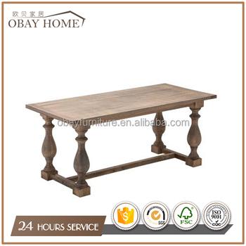 Best продавцы деревенский сельский дом деревянные столы столовая твердые деревянные овальные столы и стулья Buy деревенский дом деревянные