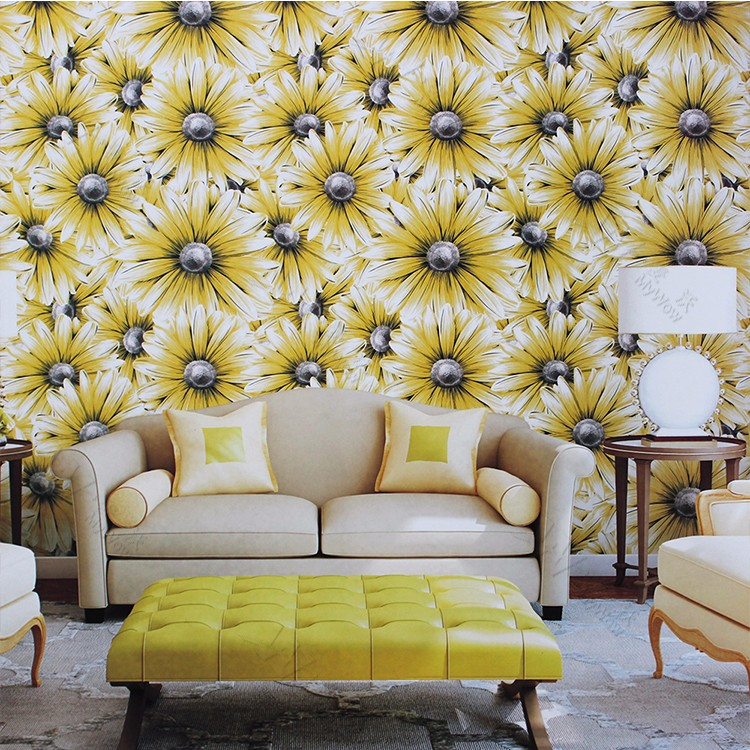 A1 9650105 Big Flower 3d Effect Wallpaper For Kitchen Home Walls