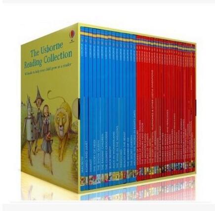 Usborne My Third Reading Library 40 Books Set Collection - The Usborne Reading Collection 2017100328