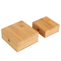 Pine Wood Box with Sliding Lid for Storage of Jewelry