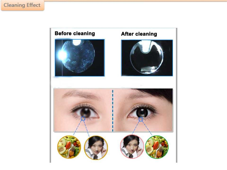 2016 new design mini portable Contact lens ultrasonic cleaner with USB cable