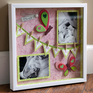 Custom size wholesale wood shadow box pictures frame wall art
