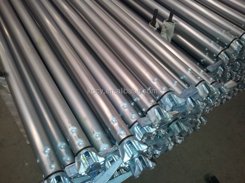 Wedge Aluminum Scaffold : Hing quality aluminium ring lock scaffolding ledger for