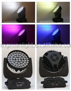 New stage light 56x10w 4in1 led moving head rgbw wash light with zoom stage decoration themes