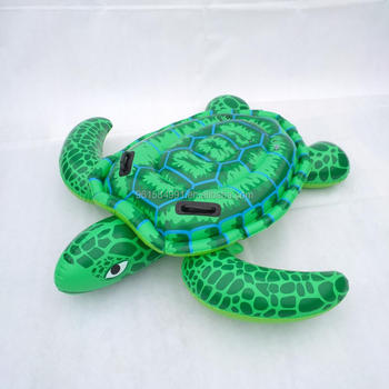 Giant Pool Float Inflatable Sea Turtle