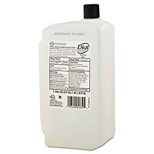 Dial Professional Antimicrobial Soap for Sensitive Skin, 1 Liter Refill - Includes eight 1 liter cartridges per case.