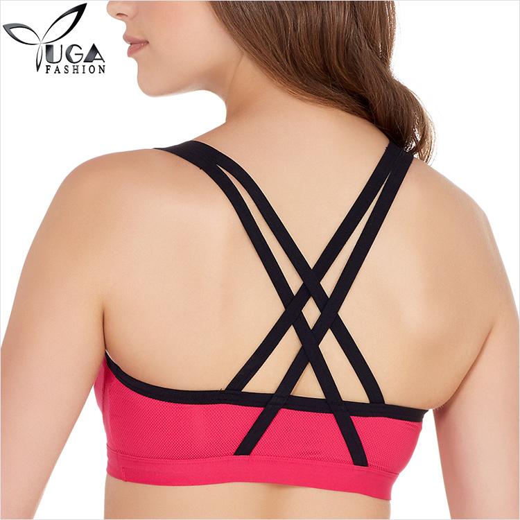 27a992961b0 Big Breast Latest Polyester Spandex Women Sports Yoga Bra - Buy Big ...