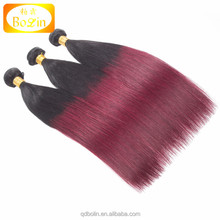 Alibaba hot sale wholesale unprocessed malaysian hair weave bundles 1B 99J