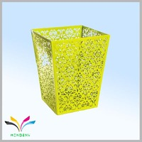 Restaurant and hotel supplies metal punching design quality waste bin