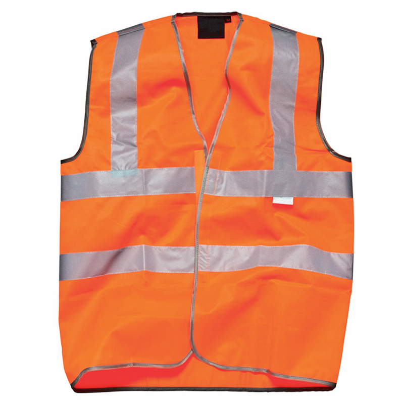 high visibility working reflective safetly vest EN471 safety jacket