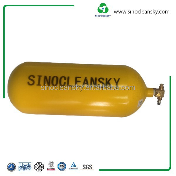 ISO11439 50L Type 1 CNG Cylinder with CNG Filling Valve