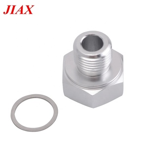 For GM LS1 LSX LS3 Aluminum M16x1 5 to 1/8 NPT LS Engine Swap Oil Pressure  Sensor Adapter