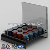 acrylilc cosmetic display stand /acryl cosmetic product display stands/Multiduty cosmetic product display stands
