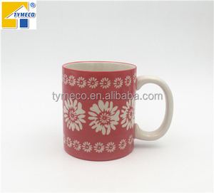 Hand painted ceramic mug factory