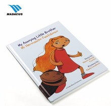 Eco-friendly wholesale hardcover hard cover children book printing services
