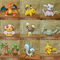 2-3cm Pokemon Toys Action 144 Pokemon Figures