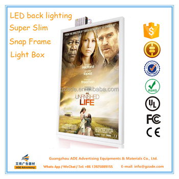 Back Light Frame Movie Poster Light Box Led 27 Inches X 40 Inches ...
