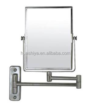 Hsy 1726 Wall Mounted Flexible Swivel Square Bathroom Mirror