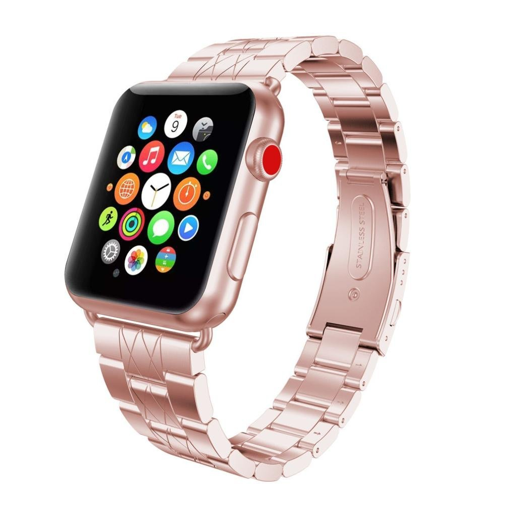 Cheap 2mm Rose Gold Band Find Deals On Line At Apple Watch 2 Series 1 38mm Aluminum Pink Sport Get Quotations For Gotd Stainless Steel Strap Bracelet Wrist Replacement