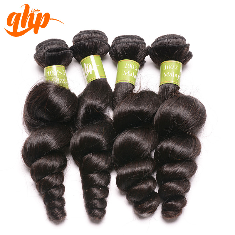 QHP Handmade hair weft Malaysian virgin bulk hair water wave wholesale alibaba express
