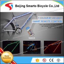 Special customed LED 26 inch aluminium bicycle LED bike