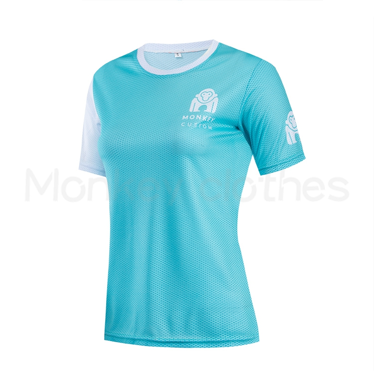 Sublimated running t shirt for sport and marathon