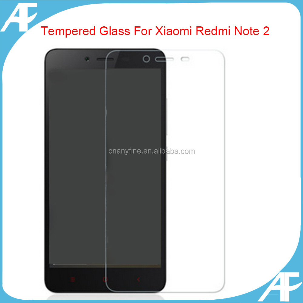 New Premium Real HD Screen Protector Tempered Glass Protective Film For Xiaomi Redmi Note 2