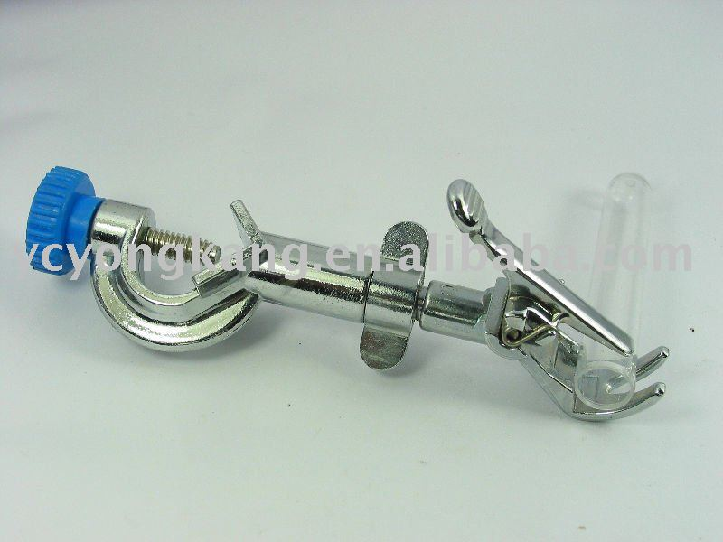 test tube and thermometer swivel holder