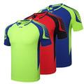 New LN badminton wear short sleeved T shirt sportswear shirts for Men Women s Badminton male