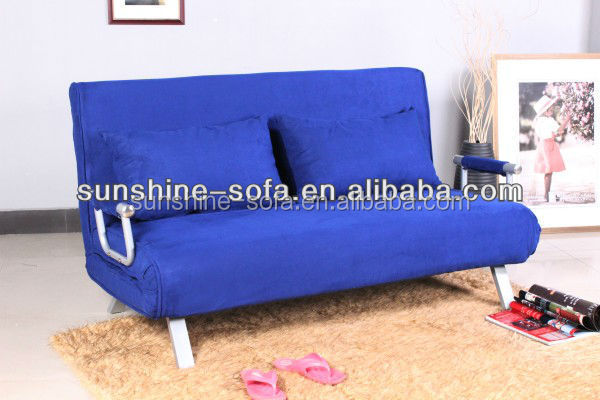Pleasing Metal Flat Pack Furniture Futon Sofa Bed With Removable Arm Rests Blue Microfibre Buy Futon Sofa Bed With Removable Arm Rests Blue Microfibre Bed Short Links Chair Design For Home Short Linksinfo