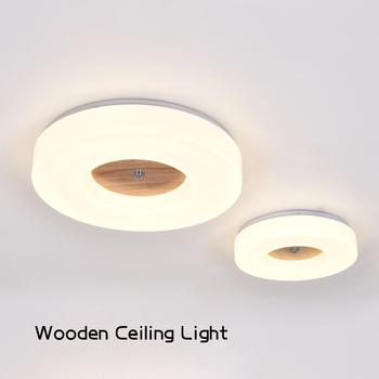 Neue Moderne 18 Watt 24 Watt 36 Watt Wohnzimmer Deckenleuchten Top Qualität  Fernbedienung Führte Holz Deckenleuchten