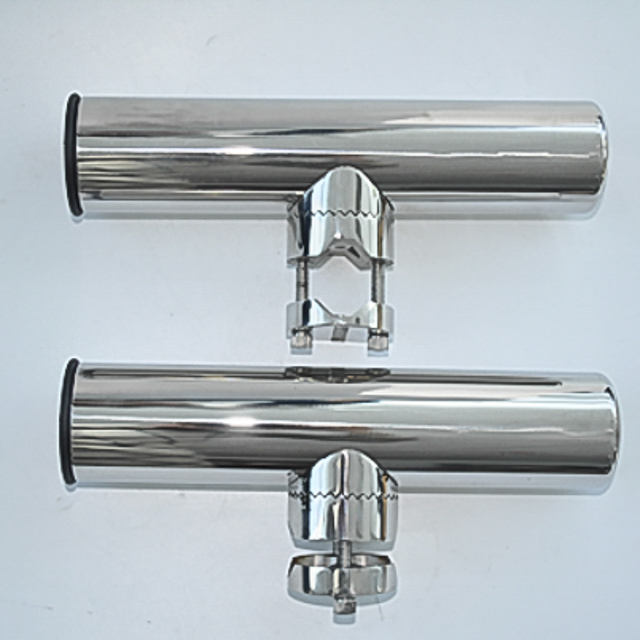 """Lower Clamp 7744SN-1 Stainless Clamp on Fishing Rod Holder for Rails 7//8/"""" to 1/"""""""