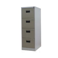 Lockable white metal 4 drawer card box file cabinet/hot sale four drawer lateral steel filing cabinets