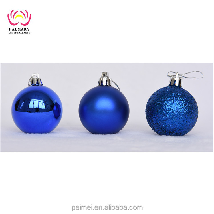 Shiny/Matte/Glitter Christmas Hanging Ornament ball, xmas ball