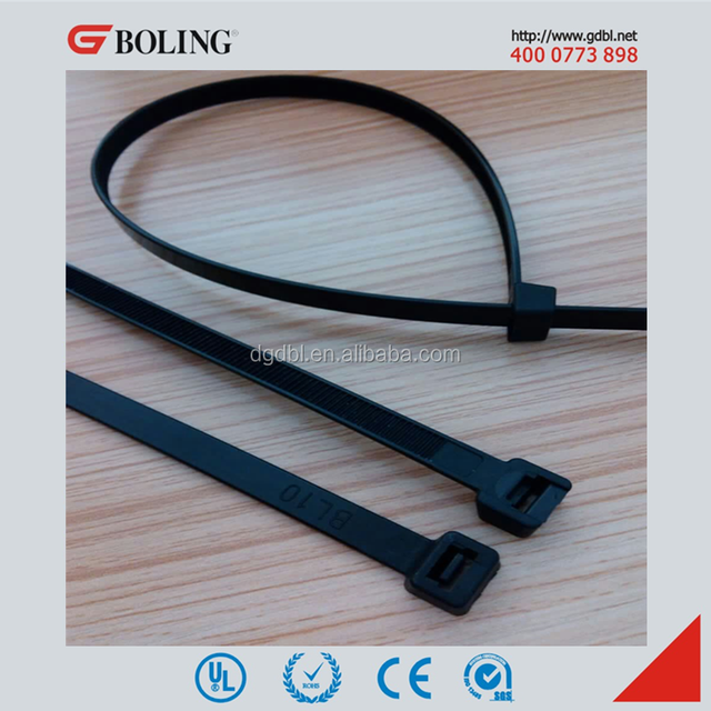 4616ef6f47e1 100 Black Self Locking Nylon Network Cable Plastic Zip Tie Straps [ALL SIZES ]