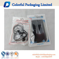 customed print cell phone bag iphone6s cellphone plastic bags clear cellphone packaging